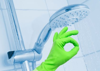 Clean Your Baths and Showers With All Natural Cleaning Products